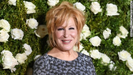 Bette Midler attended the 2017 Tony Awards at Radio City Music Hall on June 11, 2017 in New York City.