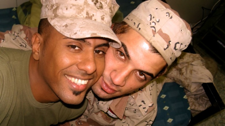 2 gay Iraqi soldiers found love amid war. Then the death threats started