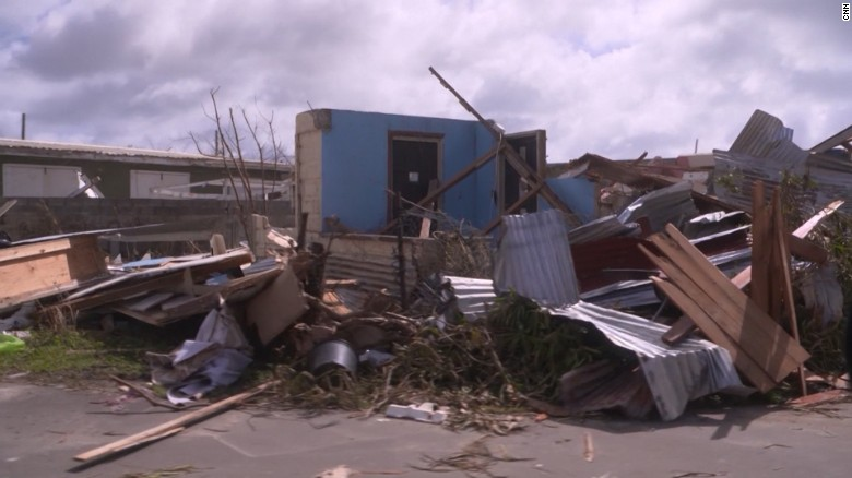 Irma has left Barbuda uninhabitable