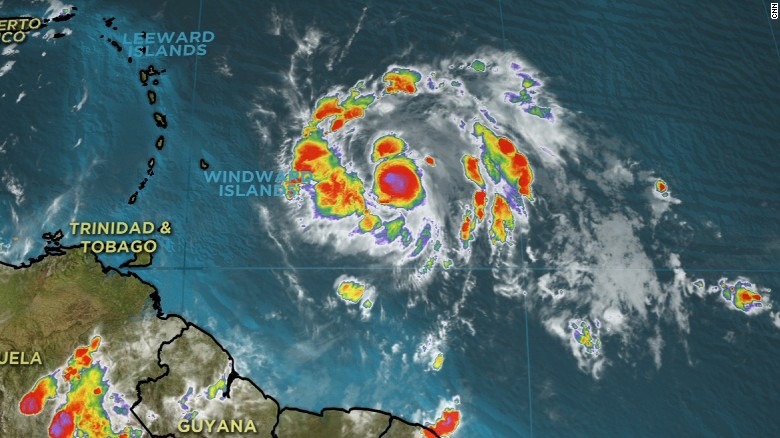 Tropical Storm Maria may follow Irma's path