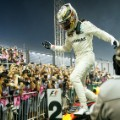 f1 singapore hamilton jumps off car