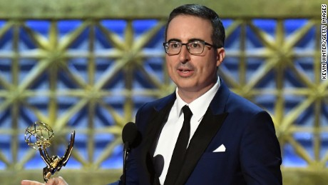 'Last Week Tonight with John Oliver' won its second consecutive Emmy for outstanding variety talk series.