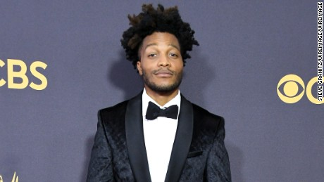 Actor and Emmys broadcast announcer Jermaine Fowler attends the 69th Annual Primetime Emmy Awards at Microsoft Theater on September 17, 2017 in Los Angeles, California.