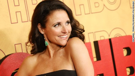 Julia Louis-Dreyfus attends HBO's Post Emmy Awards reception.