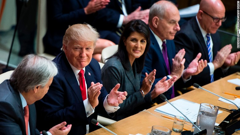 'America first' Trump makes debut at UN