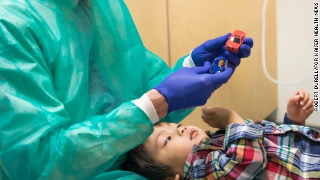 Communicating directly with children during dental exams can help reduce their stress, Ray Stewart says.
