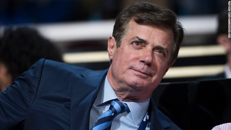 Paul Manafort advisor to Donald Trump is seen on the floor of the Quicken Loans Arena at the Republican National Convention in Cleveland Ohio