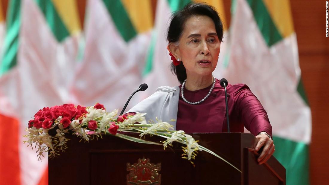 Aung San Suu Kyi stripped of Oxford honor