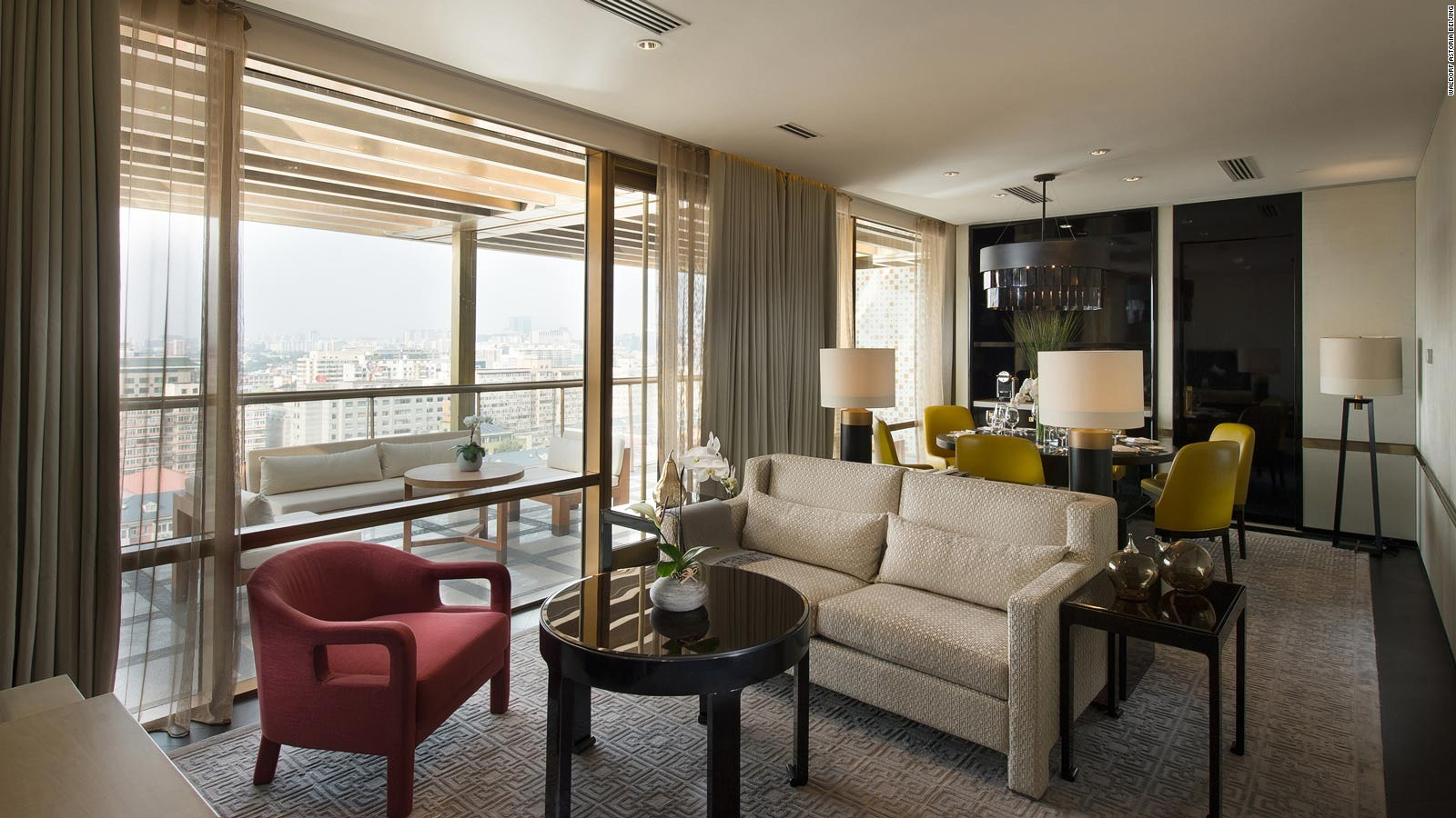 Beijings Best Hotels CNN Travel - 8 awesome extras in luxury hotel rooms