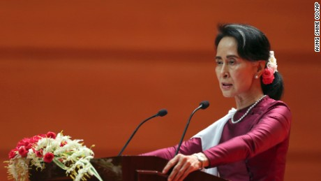 Suu Kyi: Majority of Muslims have not left