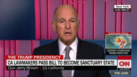 Gov denies law will make CA a 'sanctuary state'