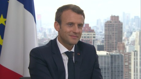 Emmanuel Macron's exclusive interview with CNN