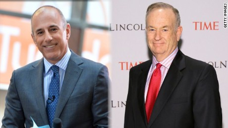 Matt Lauer and Bill O'Reilly