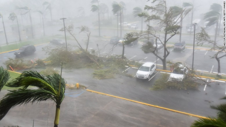 No power in Puerto Rico after Maria hits