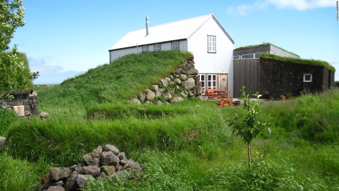 Surviving turf structures provide a glimpse into how Icelanders use to live.
