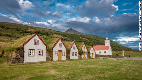 Icelandic turf homes were built using a unique form of architectural design, and an ancient tradition.