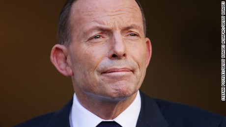 Former Australian PM Abbott 'attacked by same-sex marriage supporter'