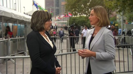 Mogherini: Iran deal must not be dismantled