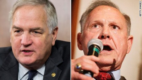 Votes being counted in Alabama Senate race between Roy Moore and Luther Strange
