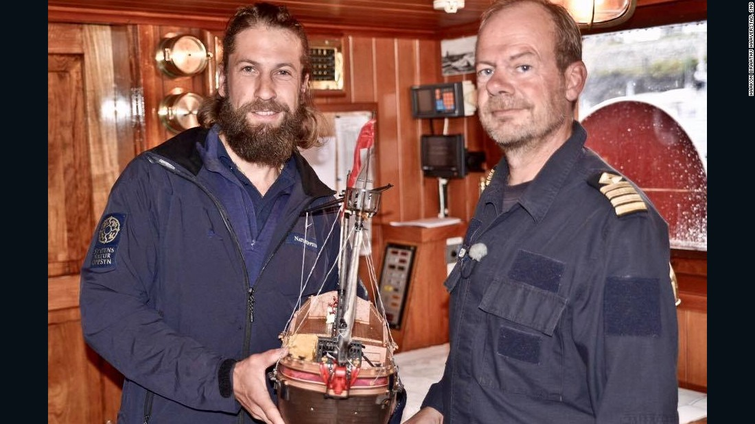 Most recently it was found in Norwegian waters by crew members on a conservation vessel.