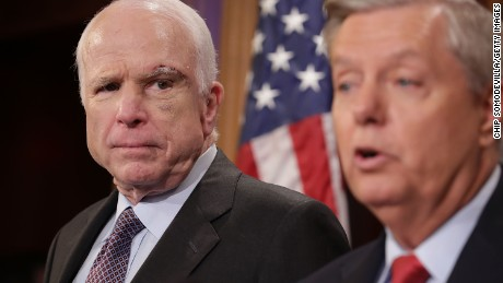 Looks like John McCain just killed Obamacare repeal, again