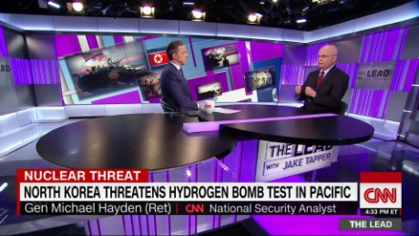 tl hayden north korea donald trump iran jake tapper _00015220