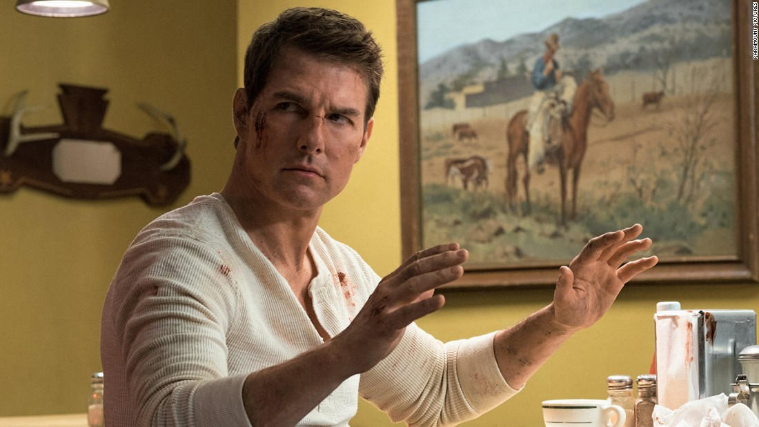 "<strong>""Jack Reacher: Never Go Back""</strong>: Tom Cruise as Jack Reacher is on the run trying to clear his name in this action film. <strong>(Amazon Prime, Hulu) </strong>"
