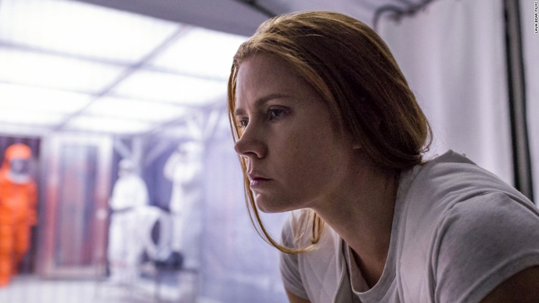 "<strong>""Arrival"": </strong> Amy Adams stars as a linguistics professor recruited to interpret the language of aliens in this critically acclaimed sci-fi film. <strong>(Amazon Prime, Hulu) </strong>"