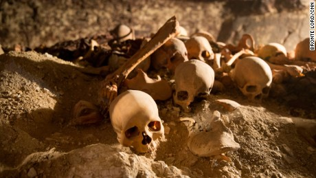 What archaeologists found in an ancient tomb