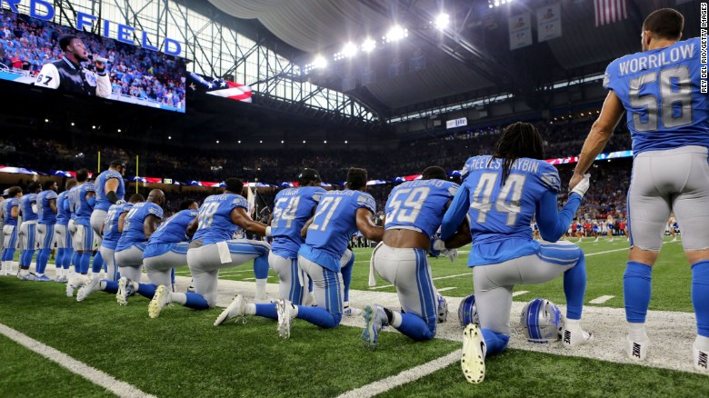 How NFL teams responded to Trump during anthem