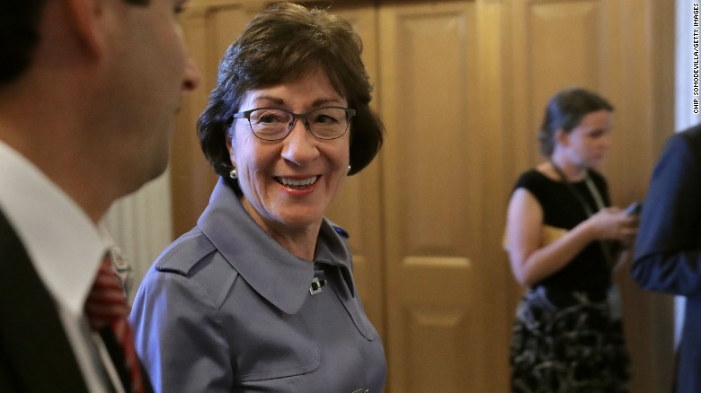 Sen. Collins a 'no' on Graham-Cassidy bill