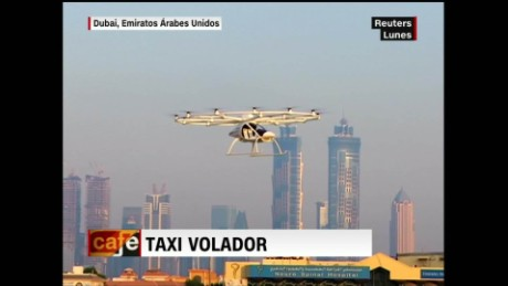 cnnee cafe video del dia dron taxi_00002027