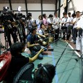 kosei inoue addresses the media rio 2016