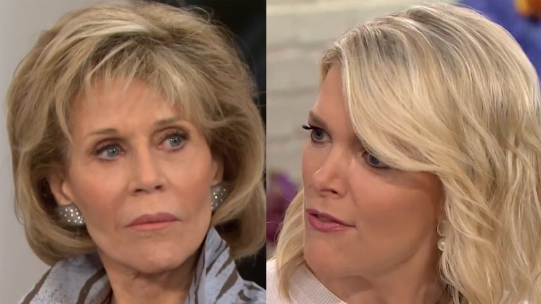 Jane Fonda shuts down Megyn Kelly's question