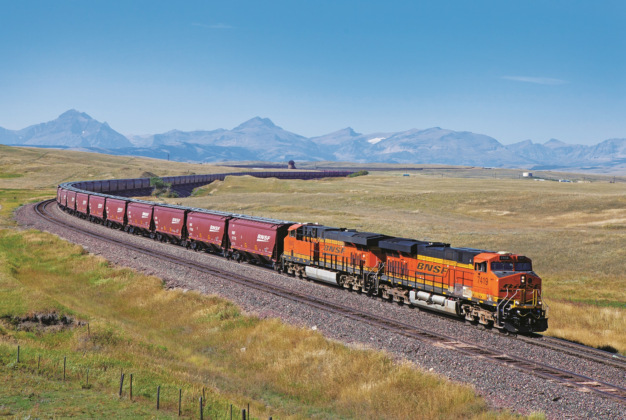 Photos of trains in stunning western US settings | CNN Travel