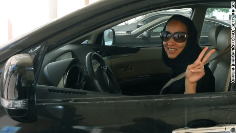 Saudi activist hails end of ban on women driving