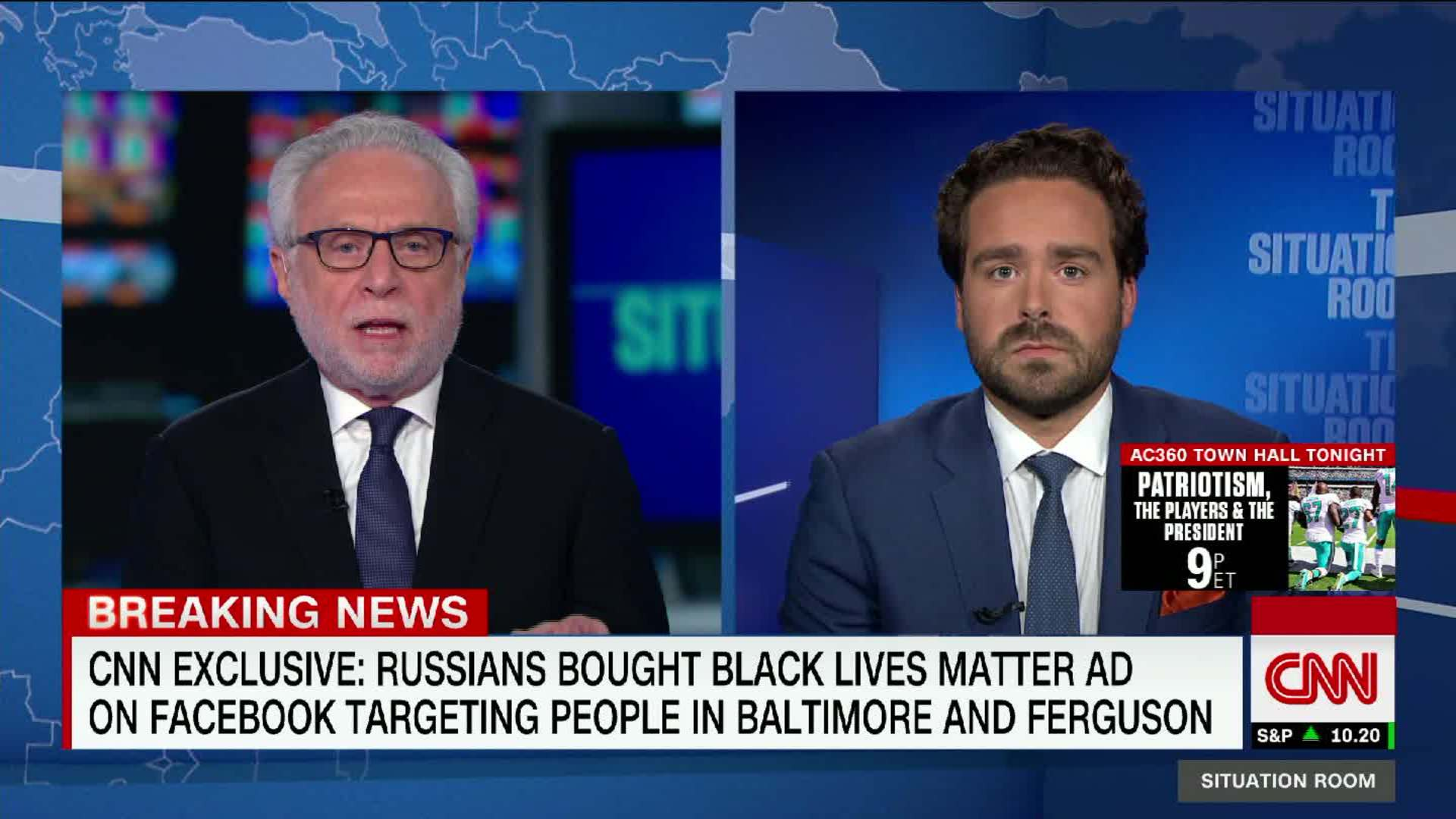 Russia Bought Black Lives Matter Ad On Facebook   CNN Video