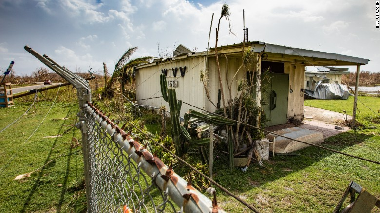 Destruction is everywhere on the island of Vieques.