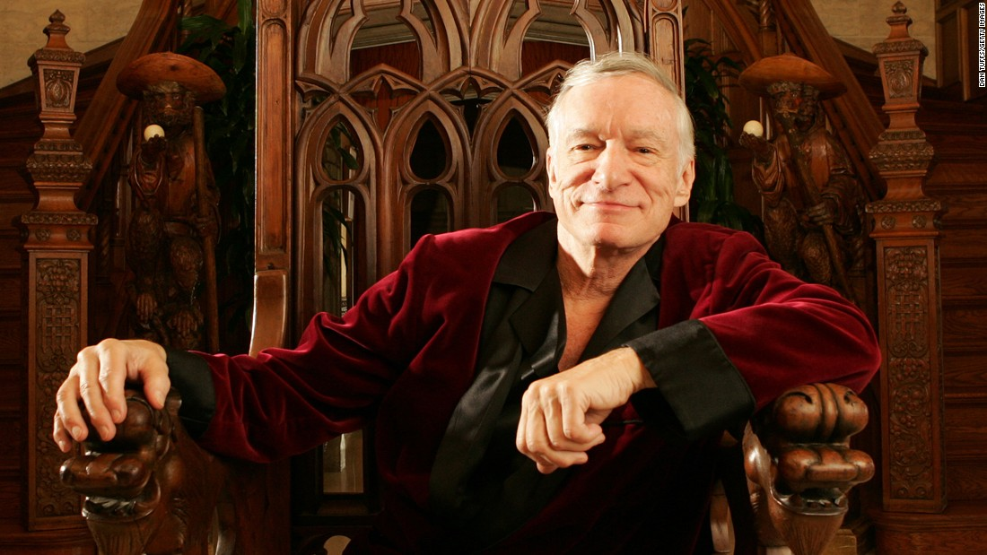 "<a href=""http://money.cnn.com/2017/09/27/media/hugh-hefner/index.html"" target=""_blank"">Hugh Hefner</a> -- the silk-robed Casanova whose Playboy magazine popularized the term ""centerfold,"" glamorized an urbane bachelor lifestyle and helped spur the sexual revolution of the 1960s -- died September 27 at the age of 91, the magazine said."