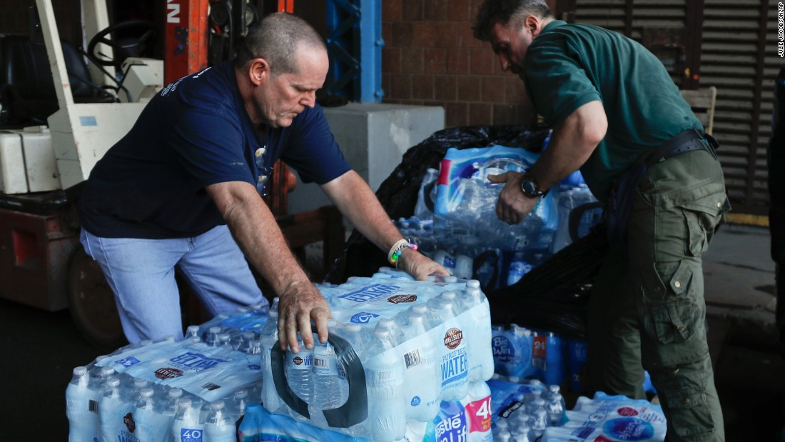 Delivering aid to Puerto Rico a challenge for volunteers