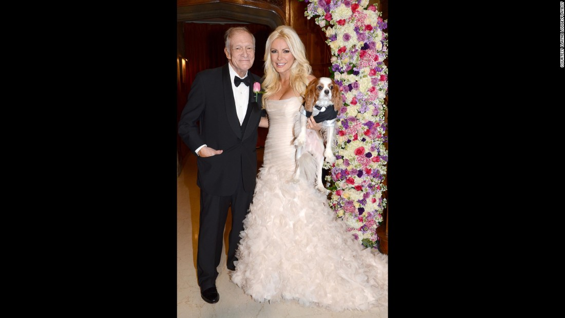Hefner married Crystal Harris, his third wife, on December 31, 2012. Hefner first proposed to Harris in 2010 when she was 24 and he was 84.