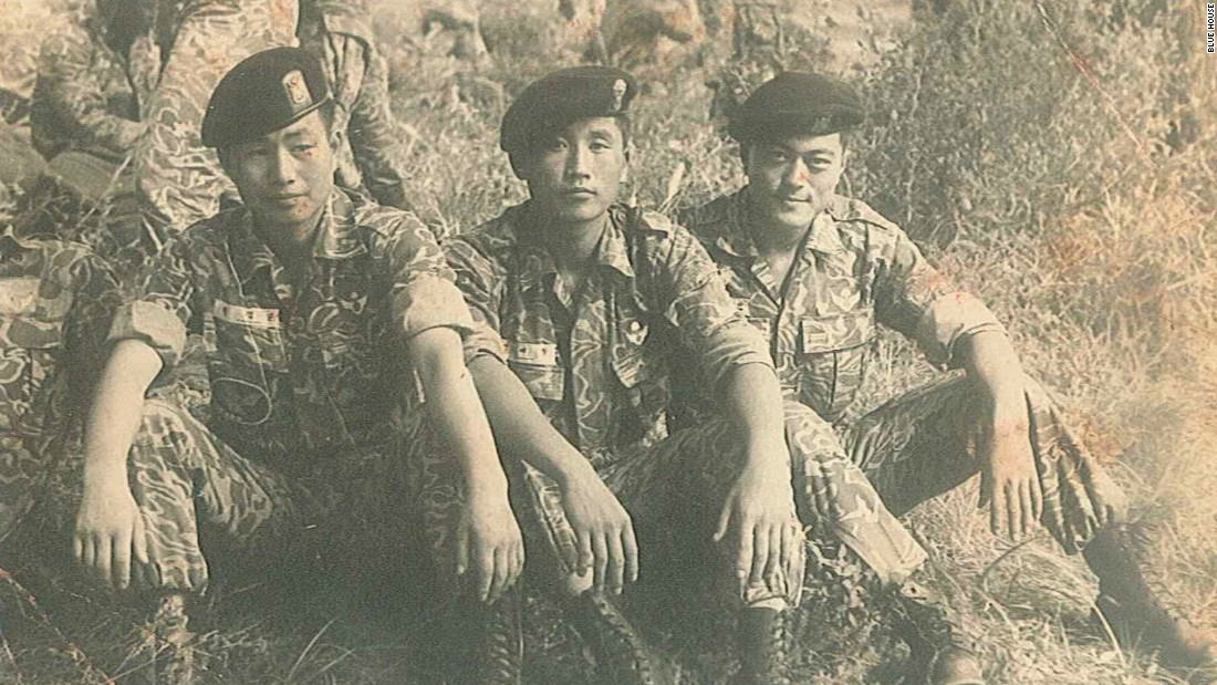 Born to North Korean refugee parents, Moon Jae-in is a former special forces soldier.