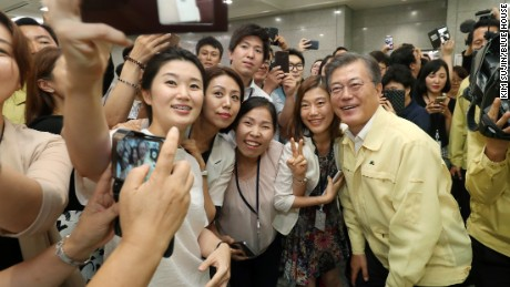 From North Korean refugee parents to the Blue House: meet South Korean president Moon Jae-in