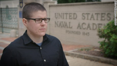 A transgender midshipman fights Trump's ban