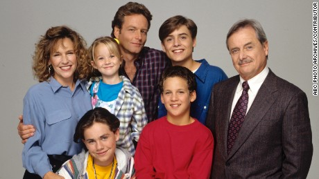 "The cast of ""Boy Meets World"" in 1993."