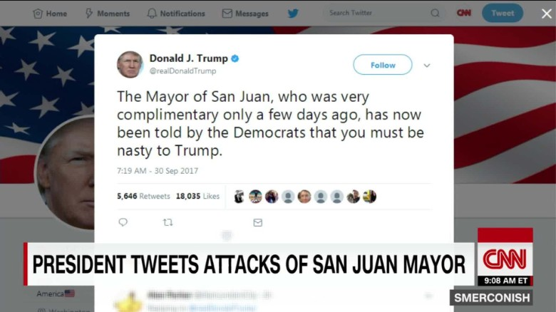 Trump tweetstorm vs. San Juan mayor_00000000