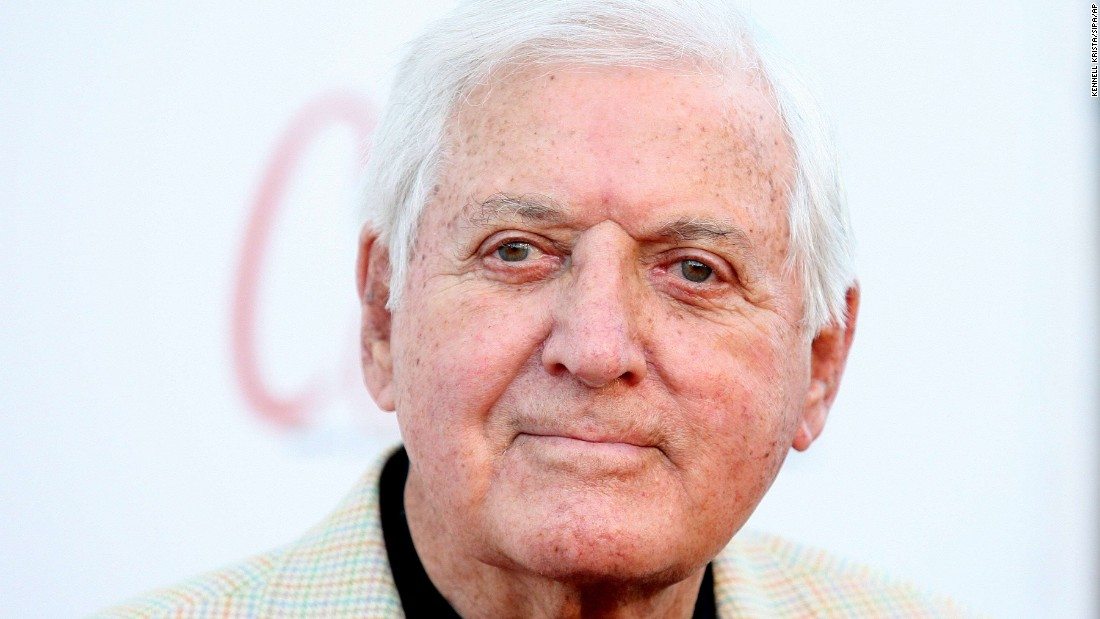 Monty Hall arrives at the Beverly Hills Celebration in Beverly Hills on September 2, 2010.