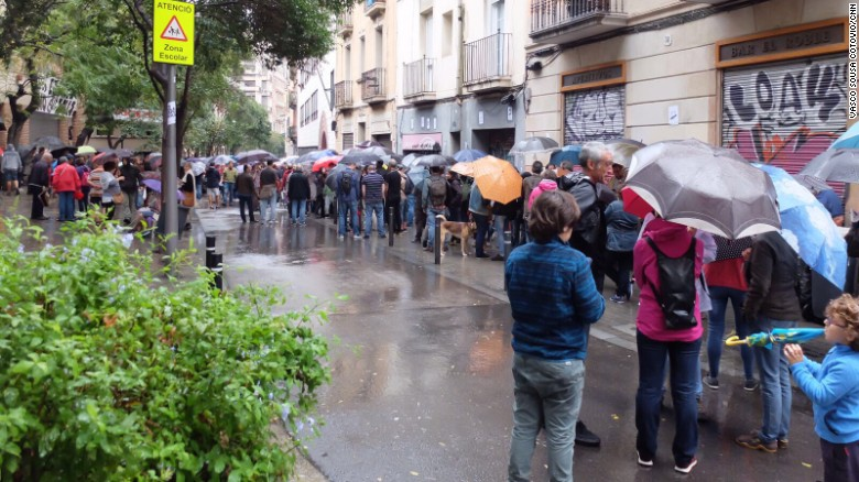 A look inside Catalonia's referendum vote