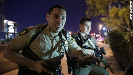 Las Vegas police release bodycam video.