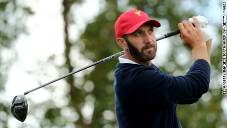Dustin Johnson on the US's Presidents Cup win